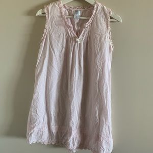 Vintage Light Pink Nightgown with Frills
